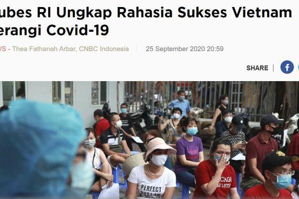 Truyền thông Indonesia cảm thán: 'Tuyệt quá Việt Nam!'