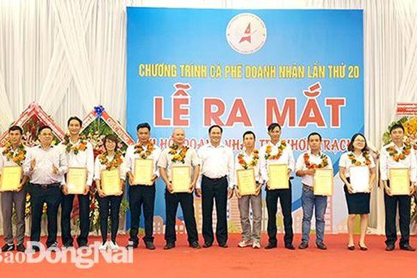 Thành lập Chi hội Doanh nhân huyện Nhơn Trạch