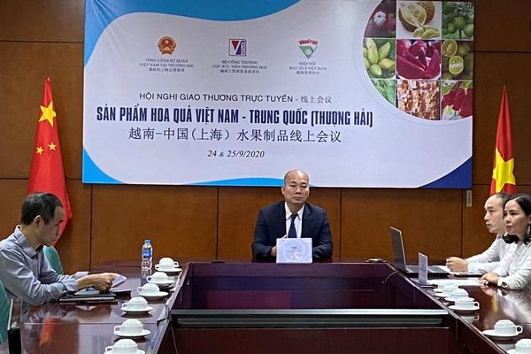 Thúc đẩy kết nối giao thương sản phẩm hoa quả Việt Nam - Trung Quốc