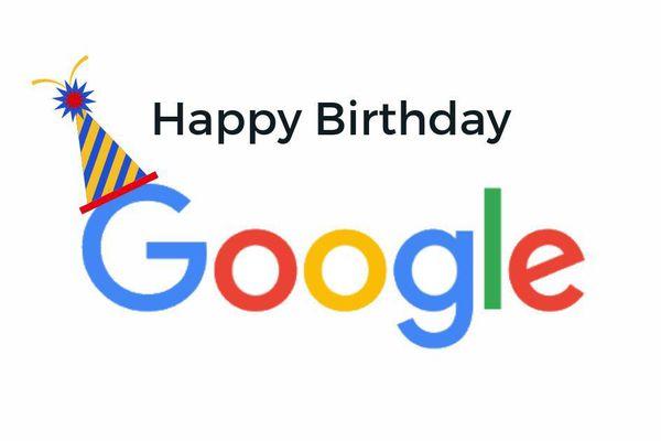 Google đón sinh nhật tuổi 22