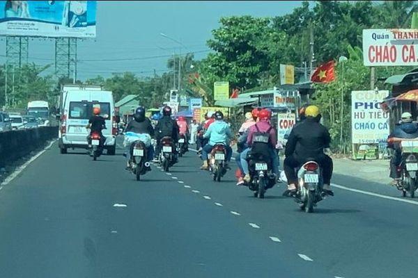 Cảnh sát giao thông Tiền Giang tăng cường tuần tra, kiểm soát xử lý vi phạm giao thông