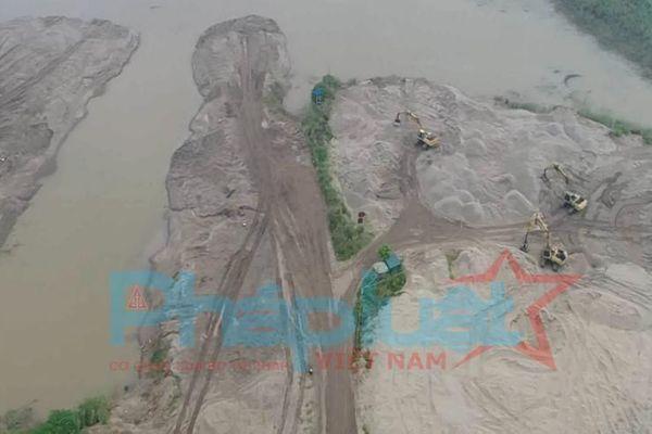 Liên Mạc ( Bắc Từ Liêm): Bất chấp lệnh cấm, Công ty TNHH Thương mại Thiên Lộc Phú ngang nghiên chống lệnh