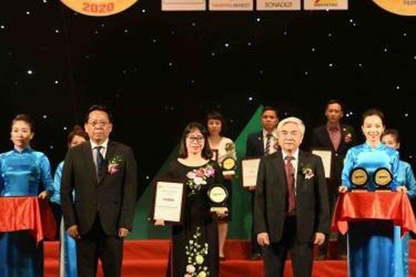 Vedan Việt Nam nhận 'Top 10 nhãn hiệu nổi tiếng Việt Nam năm 2020'