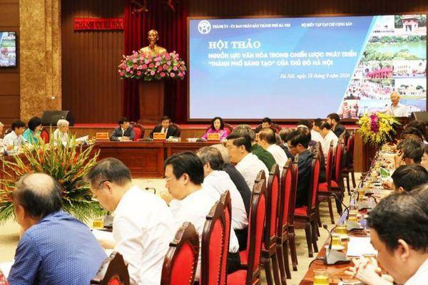 Hà Nội hài hòa tăng trưởng kinh tế với phát triển văn hóa - xã hội