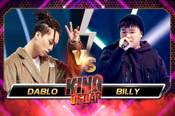 Billy - Dablo trình diễn xuất sắc khiến mentor LK tự hào: 'Rapper của King Of Rap tài năng không giới hạn'