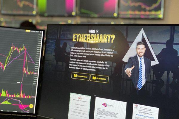 Ứng dụng chiến lược đốt Token vào quý 4/2021 để xây dựng giá trị đạt 4500$ của dự án ETHERSMART