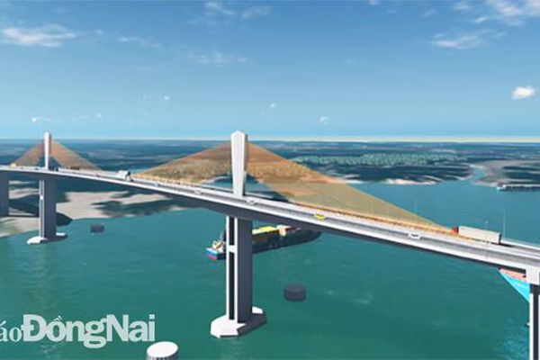 Vị trí xây dựng cầu Phước An cách cảng Phước An 150m