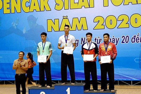 Quảng Ninh giành 3 huy chương tại Giải vô địch Pencaksilat toàn quốc 2020