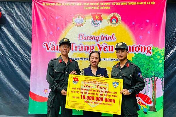 Rộn ràng đón Tết Trung thu tại TP Hồ Chí Minh