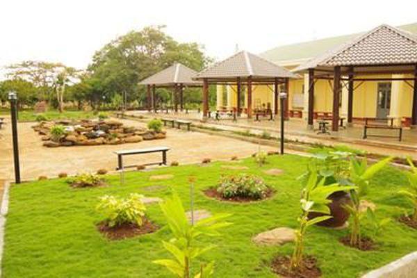 'Công viên xanh' trong doanh trại quân đội
