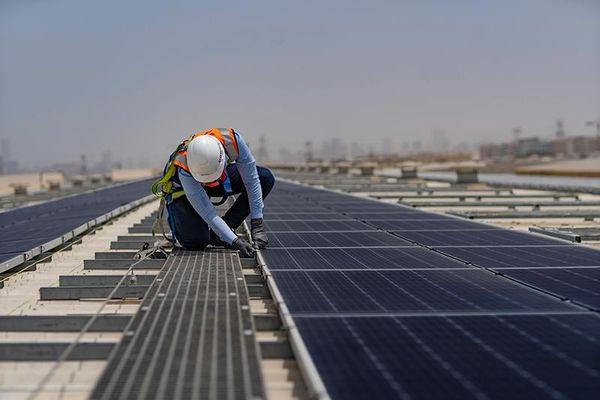 Total chuyển hướng sang điện mặt trời