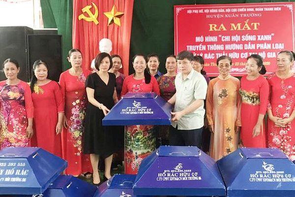101 cách làm hay, sáng tạo của phụ nữ Nam Định tham gia xây dựng nông thôn mới