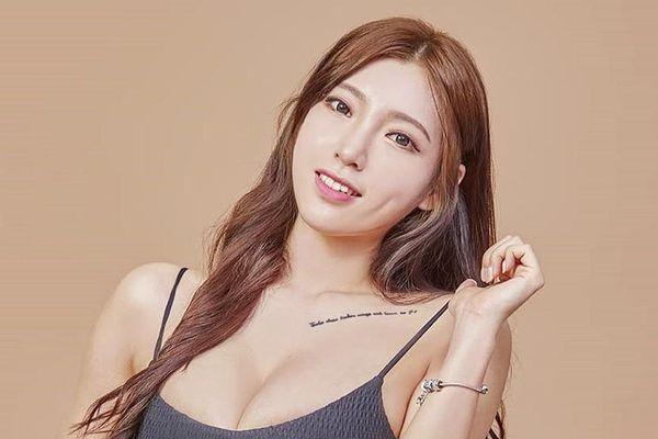 Nữ người mẫu Hàn Quốc có thân hình đầy đặn