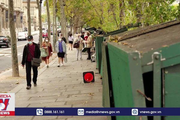 Dạo quanh phố sách cũ bên bờ sông Seine