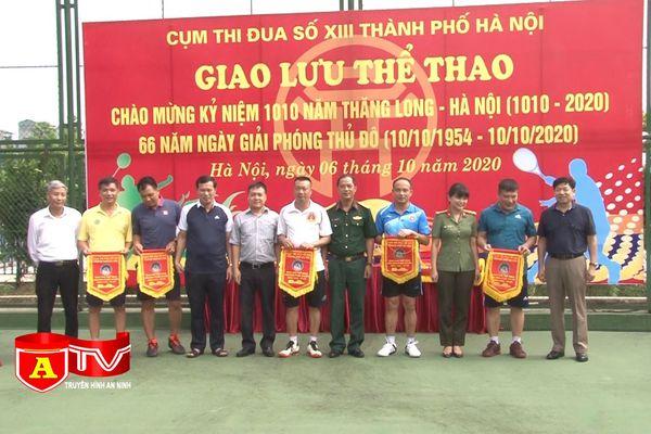 Sôi nổi giải thể thao Cụm thi đua số 13 thành phố Hà Nội