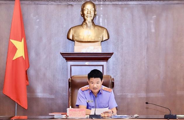 Ban Thường vụ Đảng ủy VKSND tối cao tổ chức Phiên họp thứ nhất