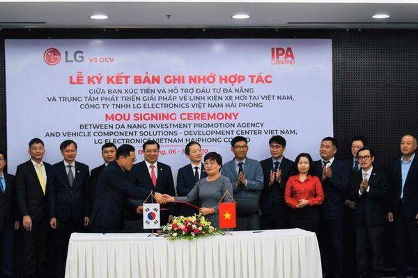 Đà Nẵng sẽ là cứ điểm để thành lập Trung tâm nghiên cứu và phát triển CNTT của Tập đoàn LG