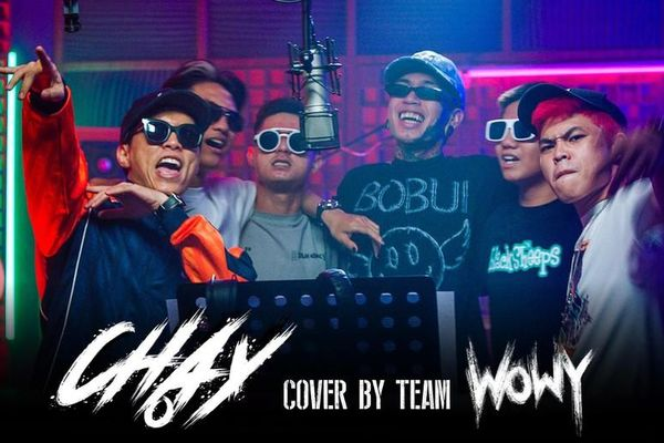 Rap Việt: Team Wowy khiến fan phát sốt khi cover bài hát 'Chạy' của 'sư phụ' Wowy