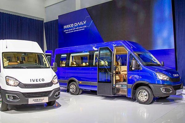 Xe buýt thương hiệu châu Âu - Iveco Daily lắp ráp tại Việt Nam