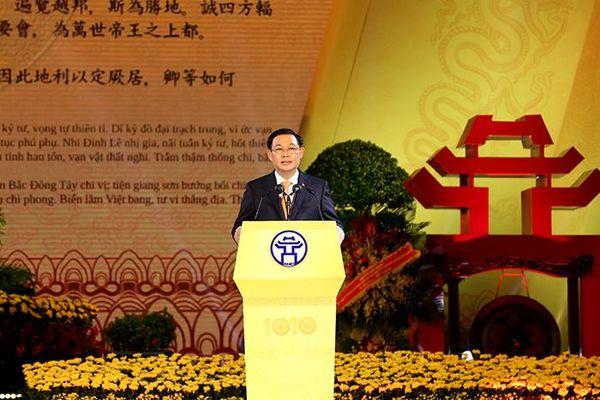 Trang trọng Lễ kỷ niệm 1010 năm Thăng Long - Hà Nội