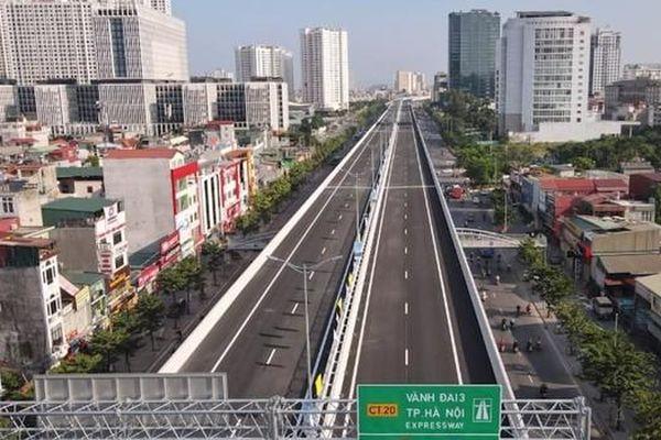 Thông xe cầu cạn Mai Dịch - Nam Thăng Long, dự án có vốn vay chủ yếu của Nhật Bản
