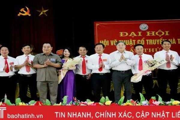 Hội Võ thuật cổ truyền Hà Tĩnh Đại hội lần thứ I, nhiệm kỳ 2020-2025