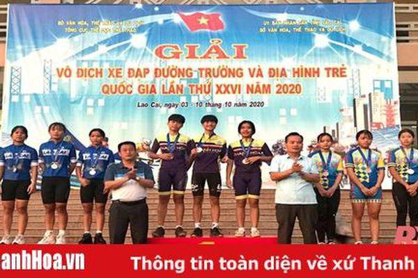 Giành vị trí nhất toàn đoàn nội dung xe đạp địa hình: Thanh Hóa lập thành tích lịch sử tại giải trẻ quốc gia
