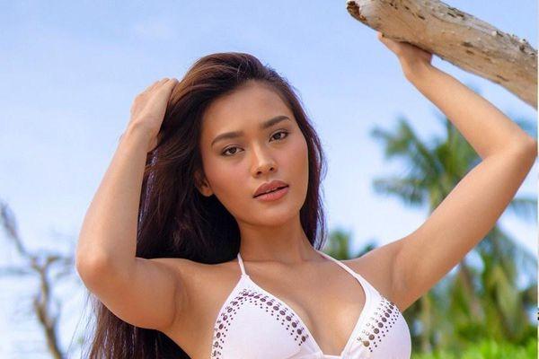 Thí sinh Hoa hậu Hoàn vũ Philippines trình diễn áo tắm