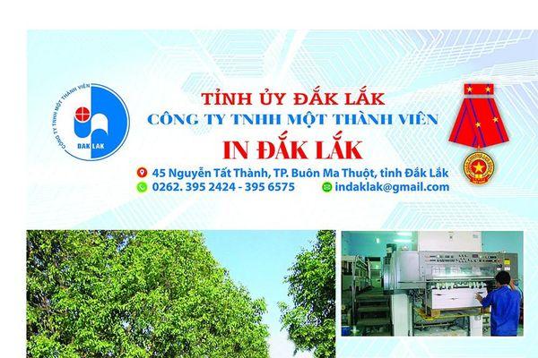 Công ty TNHH MTV In Đắk Lắk: Đổi mới để giữ vững ngôi vị số 1