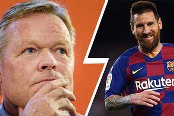 Koeman hé lộ cuộc đối thoại tay bo với Messi và sự thật Suarez rời Barca