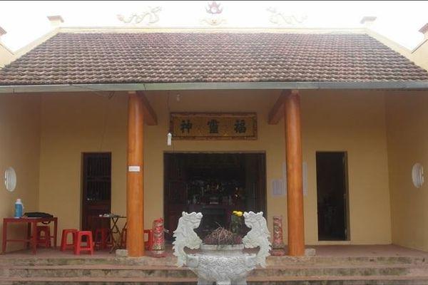 Xếp hạng Di tích lịch sử cấp tỉnh Đền thờ Đức Ông Hoàng Cần (huyện Tiên Yên)