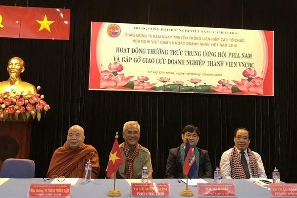 Hội Hữu nghị Việt Nam - Campuchia phía Nam chăm lưu học sinh, hỗ trợ doanh nghiệp vượt Covid-19