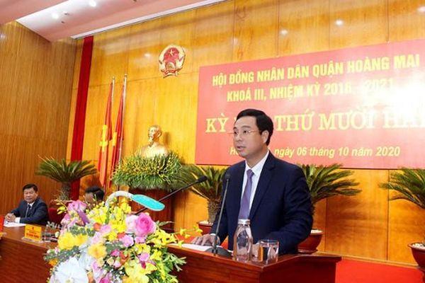 Hà Nội: Phê chuẩn Chủ tịch UBND quận Hoàng Mai, huyện Ba Vì