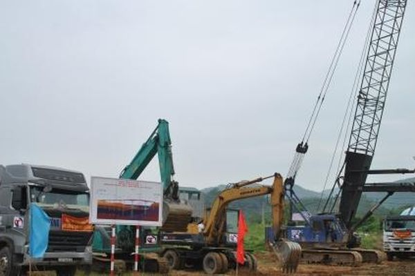 Lào Cai: Khởi công cầu thứ 8 bắc qua sông Hồng