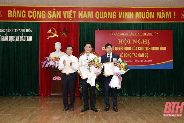 Thanh Hóa, TPHCM: Điều động, bổ nhiệm nhiều nhân sự lãnh đạo