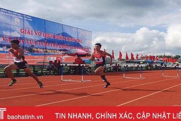 Hà Tĩnh thắng lớn tại Giải Vô địch điền kinh trẻ quốc gia năm 2020