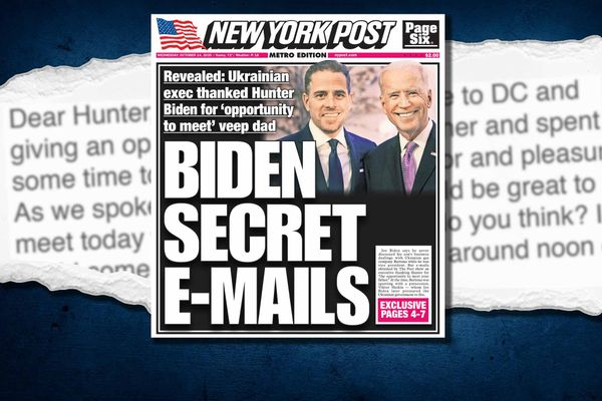 Email chấn động tiết lộ Hunter Biden từng giới thiệu doanh nhân Ukraine với Binden cha