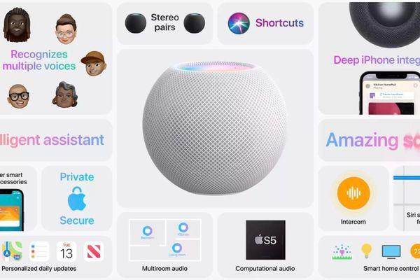 Apple ra mắt HomePod Mini: Thông minh, nghe nhạc đã tai, giá lại mềm