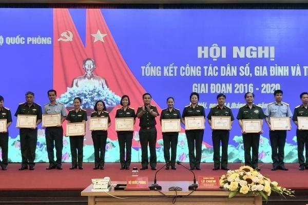 Bộ Quốc phòng: 5 năm chung tay trong công tác Dân số, gia đình và trẻ em