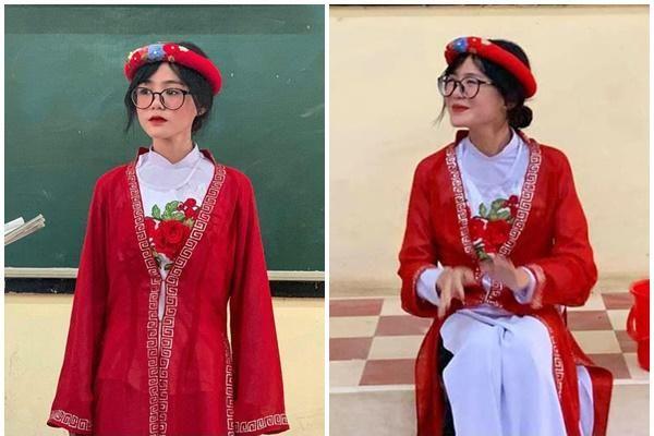 Hóa cô Tấm trong buổi biểu diễn văn nghệ, nữ sinh An Giang 'phá đảo' mạng xã hội với tấm hình chụp trộm