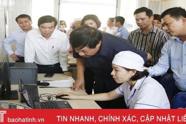 Ứng dụng công nghệ thông tin trong chăm sóc sức khỏe người dân Hà Tĩnh