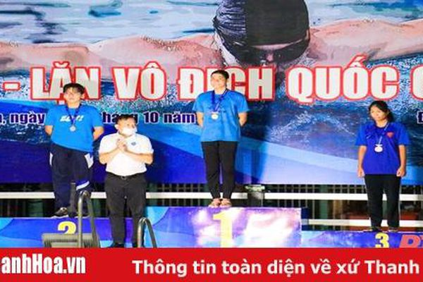 Hai VĐV của Thanh Hóa lập thành tích suất sắc tại Giải vô địch lặn Quốc gia năm 2020
