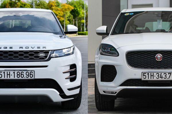 Giá khởi điểm 3 tỷ đồng chọn Range Rover Evoque hay Jaguar E-Pace