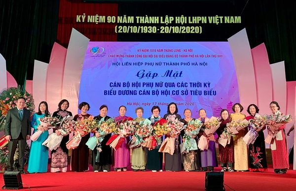Biểu dương 90 cán bộ hội và 10 phụ nữ Thủ đô tiêu biểu năm 2020