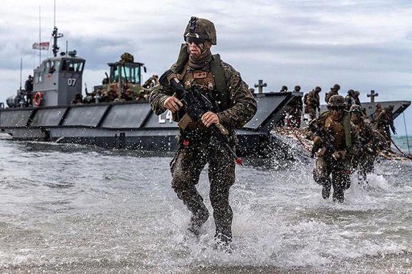 Thủy quân lục chiến Mỹ tái xuất ở châu Á đối phó Trung Quốc