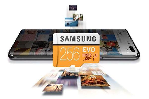 Samsung vẫn đứng đầu thị trường thẻ nhớ smartphone