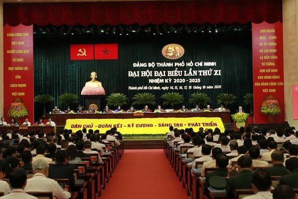 TP Hồ Chí Minh công bố danh sách 61 Ủy viên Ban Chấp hành Đảng bộ nhiệm kỳ 2020 -2025