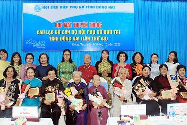 Họp mặt CLB cán bộ Hội phụ nữ hưu trí