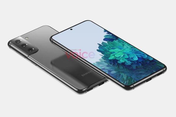 Samsung Galaxy S21 rò rỉ thiết kế, đẹp không kém cạnh iPhone 12