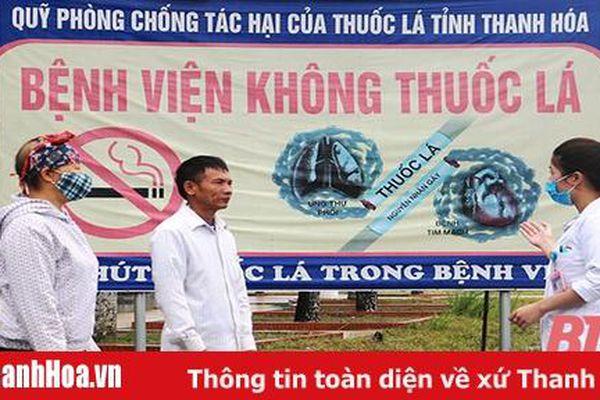 Bệnh viện Ung bướu Thanh Hóa xây dựng môi trường không khói thuốc